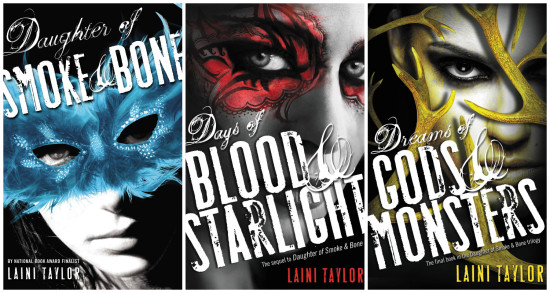 Daughter of Smoke and Bone - Laini Taylor - Trilogy