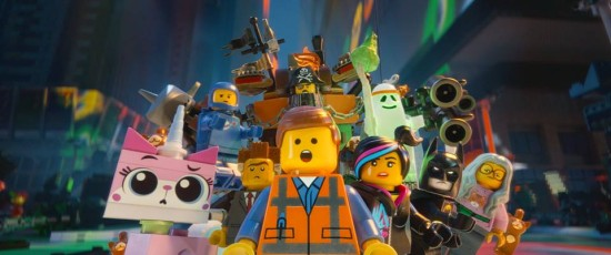 """Everything is awesome!"" - LEGO movie"