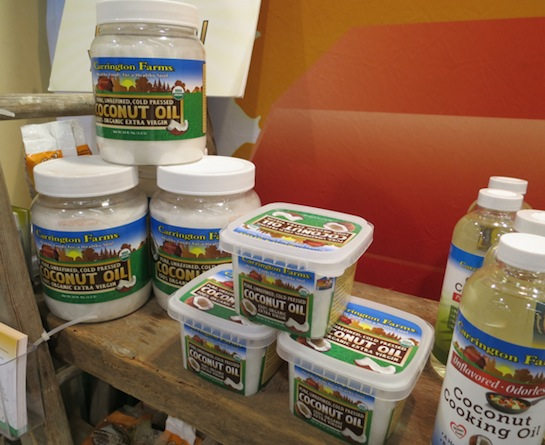 Carrington Farms coconut products - Expo West 2014