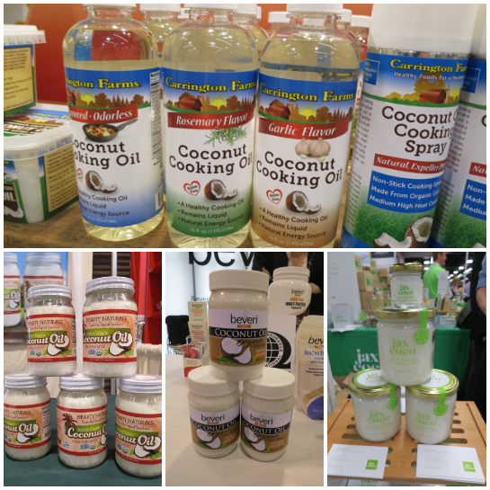 Coconuts for cooking! - ExpoWest 2014