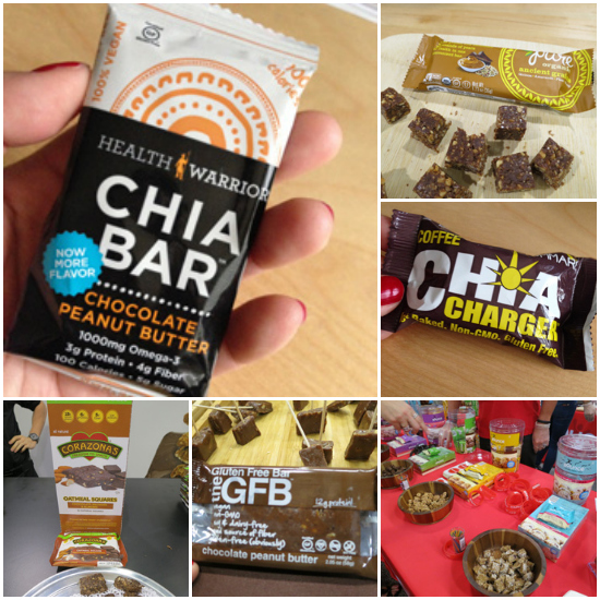 Energy Bars galore - ExpoWest 2014