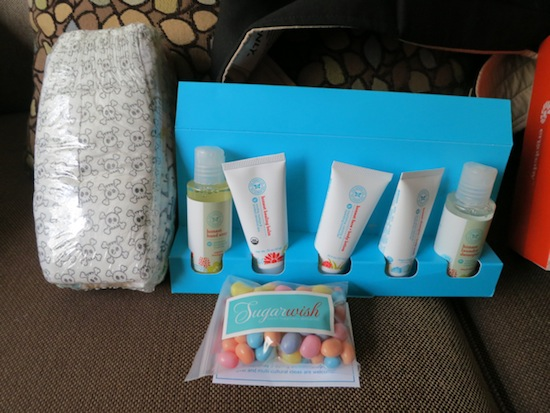 The Honest Company and Sugarwish swag - Baby BBC
