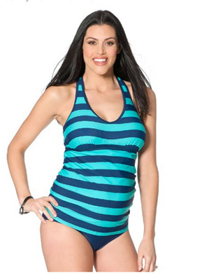 Motherhood Maternity - Racerback Tankini