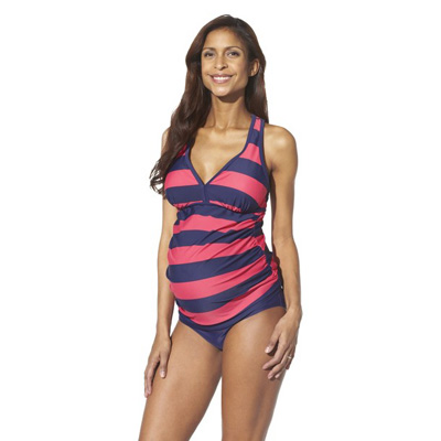 Liz Lange for Target - Racerback tankini two-piece