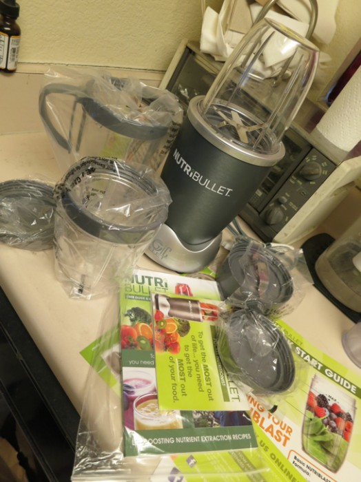 my nutribullet review - contents