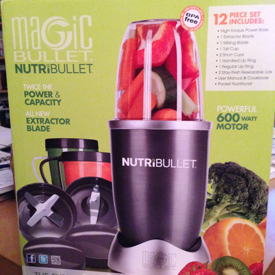 my nutribullet review - box