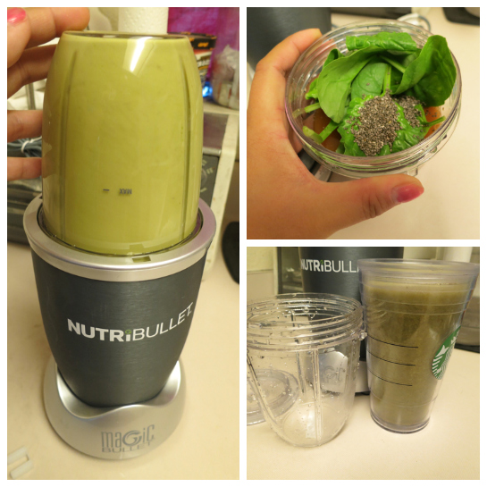my nutribullet review - blending