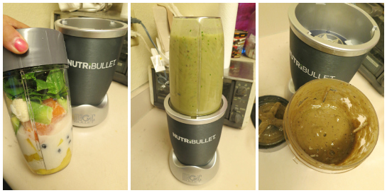 my nutribullet review - collage