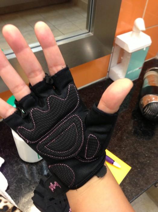 Saranac b-grl Reveal Gloves - other side