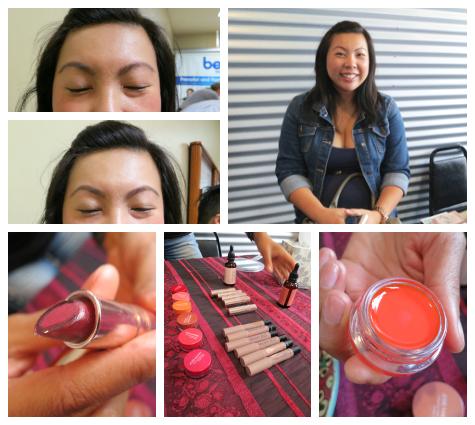 Pregnancy Awareness - Josie Maran Cosmetics and Evolue Beauty eyebrows