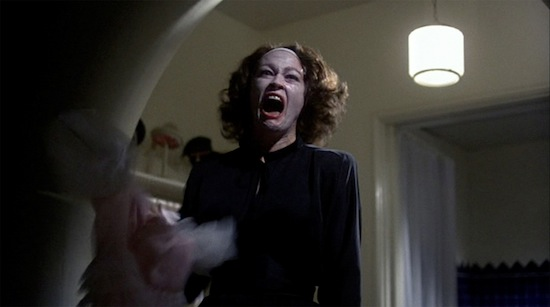 Mommie Dearest - Joan Crawford face