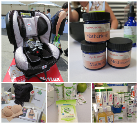 Pregnancy Awareness - Britax, Mother Love, Pump Station, Eat Clean, Babytime
