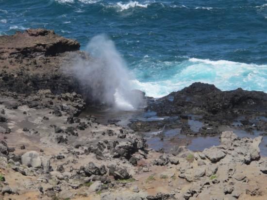 Nakalele Blowhole - Maui babymoon