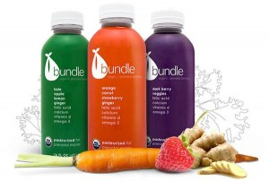 Bundle Organics prenatal juices / Photo credit - Bundle Organics