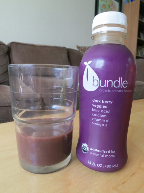 Bundle Organics - Dark Berry & Veggies prenatal juice