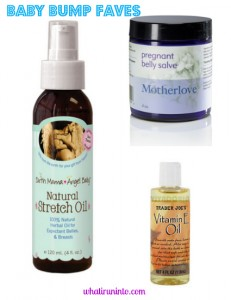 Motherlove, Earth Mama Angel Baby, Trader Joe's - Favorite Oils for a Pregnant Belly