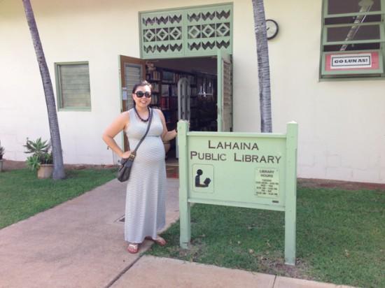 Lahaina Public Library - Maui babymoon