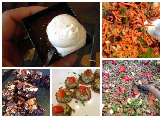 Sharon Palmer RD & Real Food Daily - tasting menu