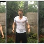 Tom Hiddleston - ALS ice bucket challenge