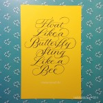 Ali. Calligraphy - Linda Yoshida