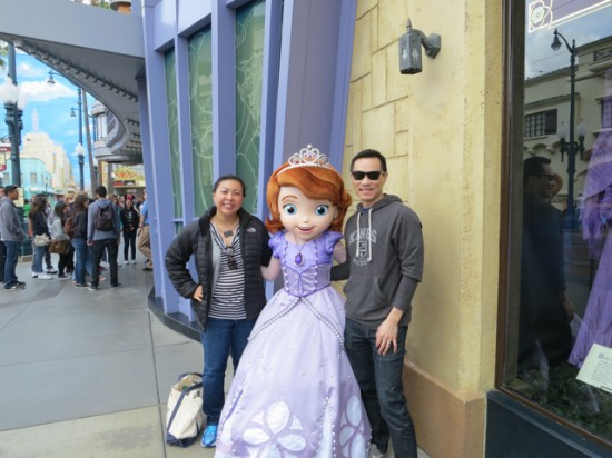 The Wife, preggo me, and Sofia the First - DCA