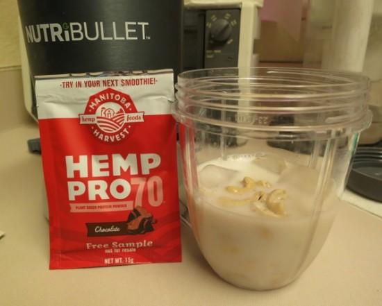 Manitoba Harvest HempPro 70 Protein chocolate