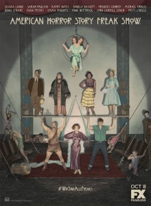 americanhorrorstoryfreakshow_poster - tv movies with clowns