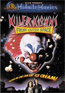 killer klowns from outer space dvd - tv movies with clowns