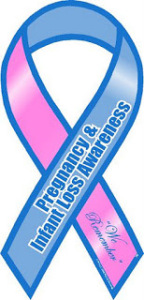 pregnancy infant loss awareness month ribbon