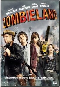 zombieland dvd - tv movies with clowns