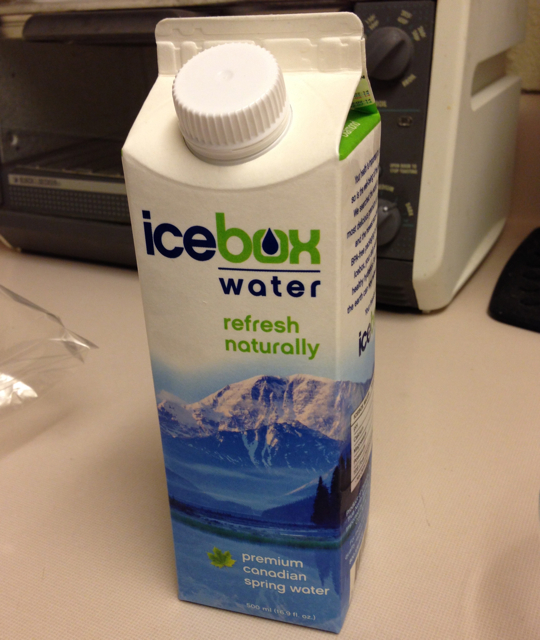 icebox water carton