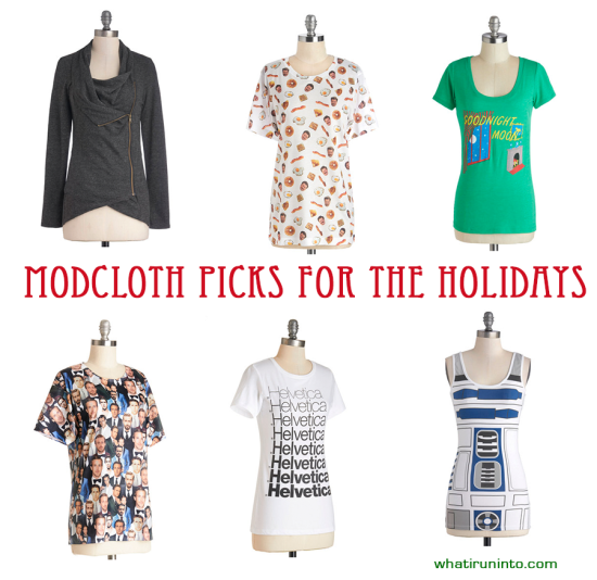 modcloth holiday gift guide my picks