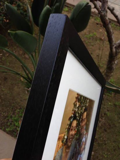 instantlyframed walnut frame