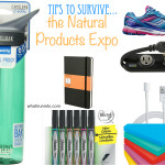 Top items to bring with you to the Natural Products Expo