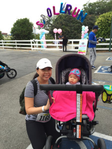 clubmomme_strollnrun_5k_strollerrun15_outfit_me and spawn balloons