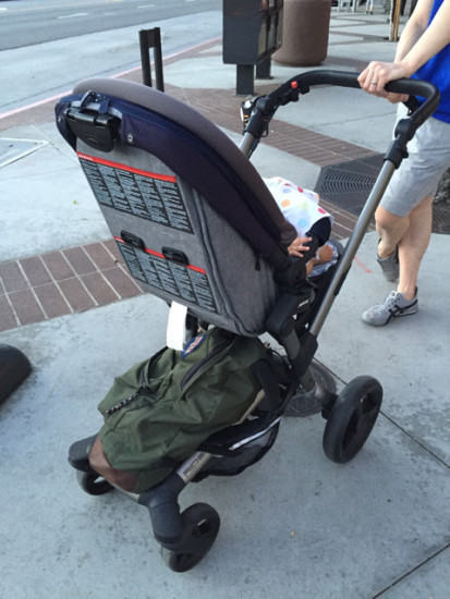 jane rider stroller review - back