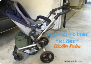 Jane Rider Stroller Review – Rollin' With The Homies
