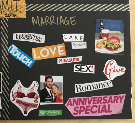 my vision board - marriage
