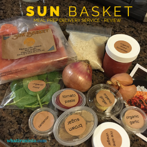 Sun Basket Meal Prep Service – Follow Directions