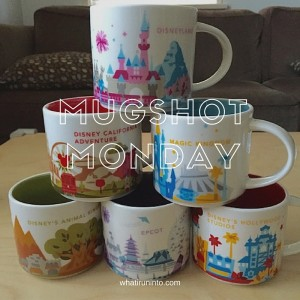 Mugshot Monday: Disney Resort Coffee Mugs