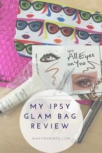 my ipsy glam bag review header