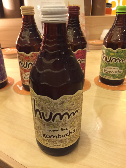 natural products expo west humm kombucha