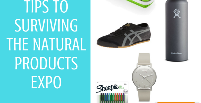 Tips to Surviving the Natural Products Expo