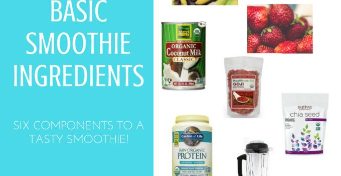 Basic Smoothie Ingredients