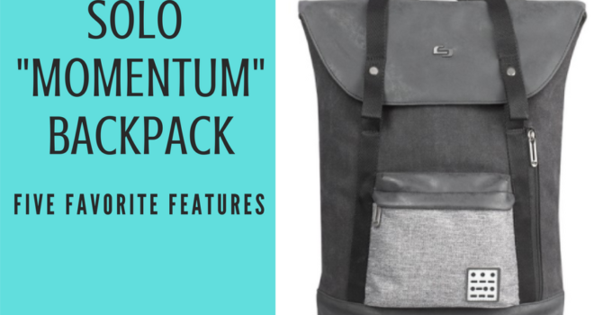 Solo Momentum Backpack: Fashionable and Functional