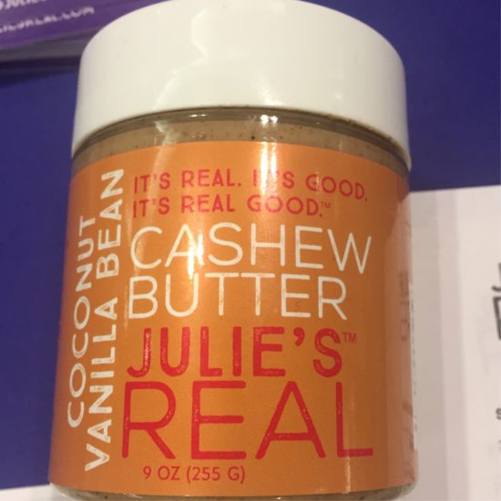 Expowest-2017-Products-julies-real-nut-butter