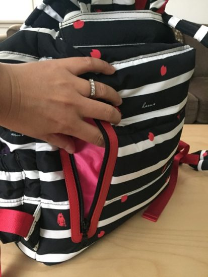 haruhonpo-diaper-backpack-review-back-zip