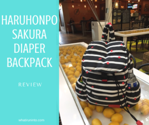 Haruhonpo Sakura Diaper Backpack Review – It Fits All