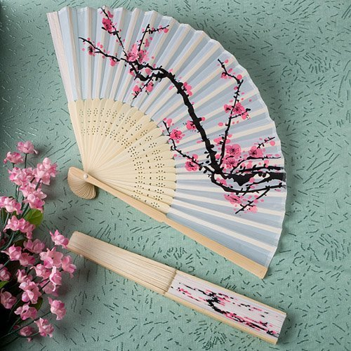 Cherry Blossom Folding Fan - Amazon