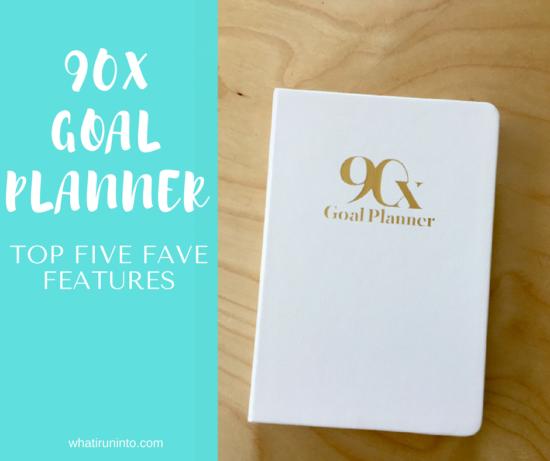 90x goal planner blog header